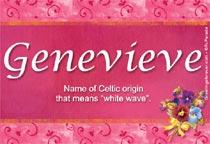 Name Genevieve