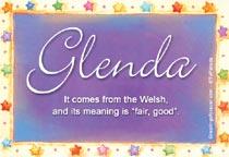 Name Glenda