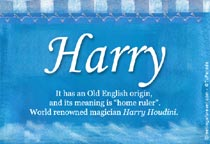 Name Harry