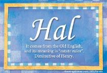 Name Hal