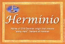 Name Herminio