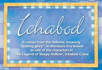 Name Ichabod