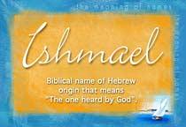 Name Ishmael