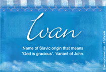 Name Ivan