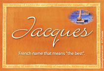 Name Jacques