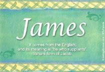 Name James