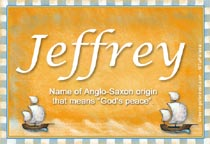 Name Jeffrey