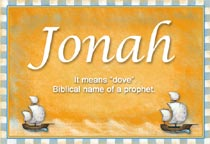 Name Jonah