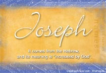 Name Joseph