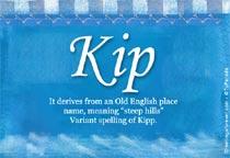 Name Kip