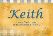 Name Keith