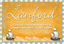 Name Lanford