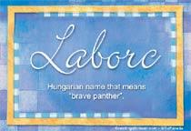 Name Laborc