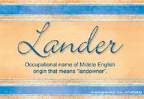 Name Lander