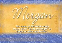 Name Morgan