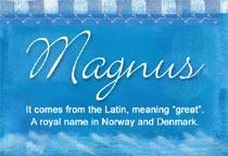 Name Magnus