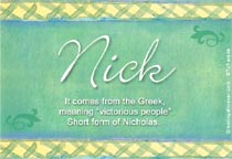 Name Nick