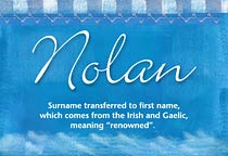 Name Nolan