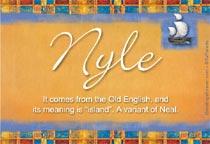 Name Nyle