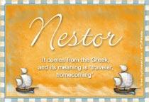 Name Nestor