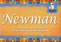 Name Newman