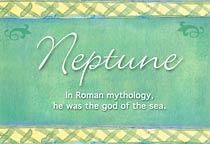 Name Neptune