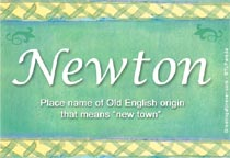 Name Newton