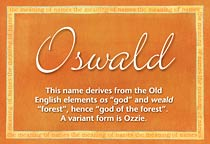 Name Oswald
