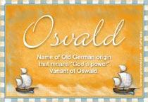 Name Osvald