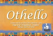 Name Othelo