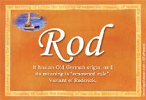 Name Rod
