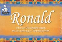Name Ronald