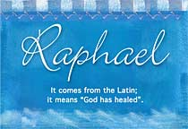 Name Raphael