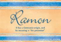 Name Ramon