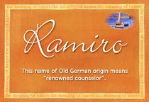 Name Ramiro