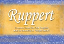Name Ruppert