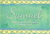 Name Samuel