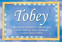Name Tobey