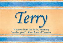 Terry name meaning terry name origin name terry for Terris meaning