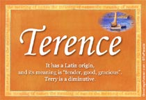 terence name meaning terence name origin name terence