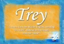 Name Trey