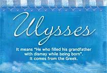 Name Ulysses