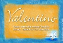Name Valentino