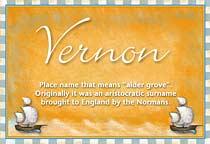 Name Vernon