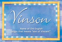 Name Vinson