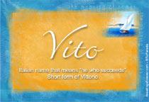 Name Vito