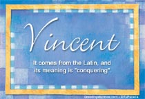 Name Vincent