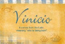 Name Vinicio