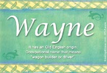 Name Wayne