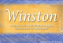 Name Winston